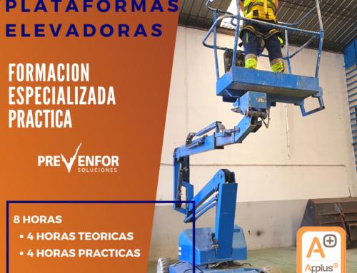 FORMACIÓN EN SEGURIDAD EN PLATAFORMAS ELEVADORAS EN SORIA