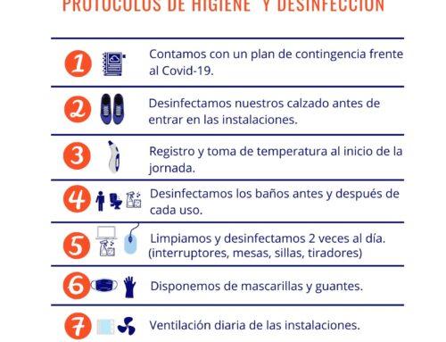 DECALOGO DE CONTINGENCIA FRENTE AL COVID19